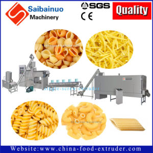 Pasta Macaroni Single Extruder Production Line Plant Making Machine pictures & photos