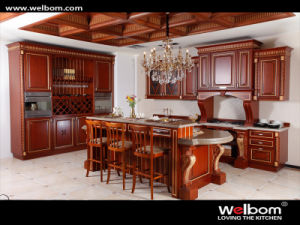 Modular Wood Kitchen Cabinet pictures & photos