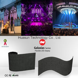 Light Weight Indoor Flexible LED Display for Stage and Rental pictures & photos