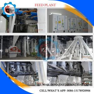 Full Automatic Cow Chicken Feed Pellet Production Plant pictures & photos