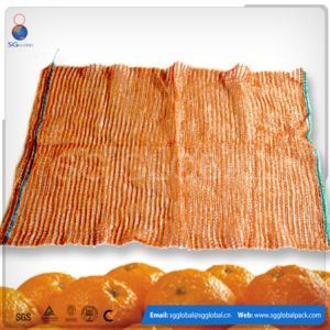 Orange 50*80 Raschel Mesh Bag pictures & photos