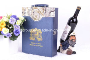Eco-Friendly Customized High Quality PU Leather Wine Box pictures & photos