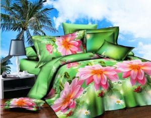 Flower Design 3D Bedding Set. Comforter Set pictures & photos