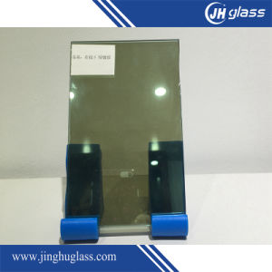 6mm Flat Dark Green Laminated Reflective Glass for Building pictures & photos