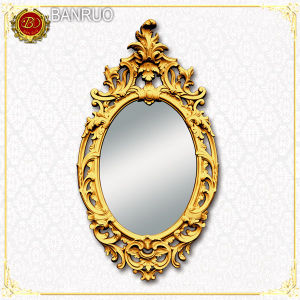 Banruo Artistic Oval Mirror Frame (PUJK07-J) pictures & photos