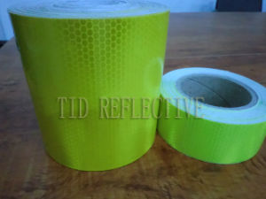 Fluorescent Yellow Green Reflective Tape pictures & photos