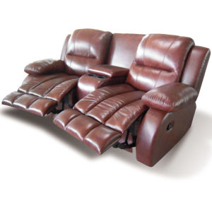 VIP Home Theater Leather Sofa Electric Recliner Sofa (YA-601) pictures & photos