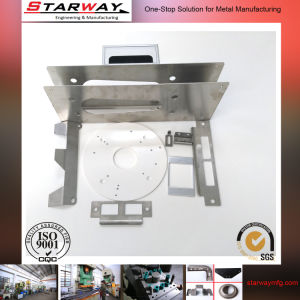 OEM CNC Drawing Steel Metal Stamping with Blac Plating pictures & photos