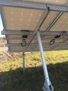 Concreted Solar Bracket/ Solar Rack /Solar Support pictures & photos