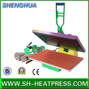 4in1 High Pressure Heat Press Machine for T Shirt and Mugs pictures & photos