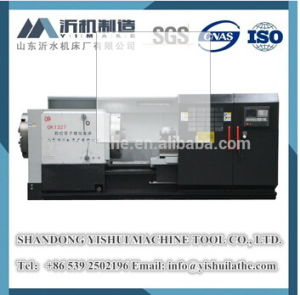 Qk1327 CNC Machine Tool, Heavy Duty CNC Oil Pipe Lathe, Pipe Turning Lathe