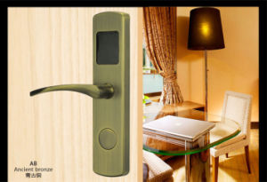 Hotel Card Lock (V-RF600T-AB) pictures & photos