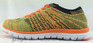 Colorful Fashion Flyknit Sports Shoes pictures & photos