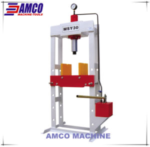 Portal Frame Hand operated hydraulic Press pictures & photos