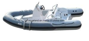 Aqualand 14feet 4.2m Rigid Inflatable Motor Boat /Rib Fishing Boat (RIB420C) pictures & photos