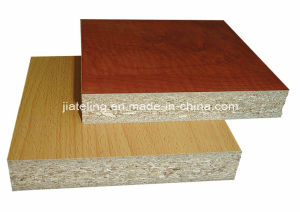 Pitted Finish Melamined Particle Board, Melamine Faced Chipboard pictures & photos