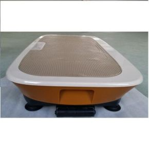 2015 Zhengqi New 3D Two Motors Ultrathin Vibration Plate with Resistant Band and Remote Control pictures & photos