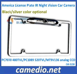 IR Night Vision America License Plate Rear View Car Camera Cm-315b pictures & photos
