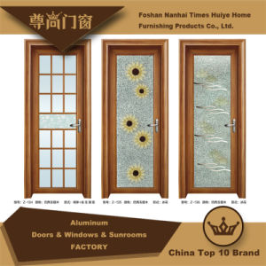 Aluminium Casement Door with Ornament for Houses Decoration pictures & photos
