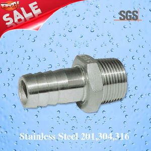 Stainless Steel Casting Hexagonal Hose Nipple, Stainless Steel Nipple pictures & photos