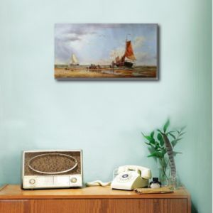 Classical Sailboat on Canvas Oil Painting pictures & photos