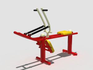 Cheap Export Outdoor Fitness Equipment Outdoor Amusement Park Equipment Classic Rowing Machine FT-Of317 pictures & photos