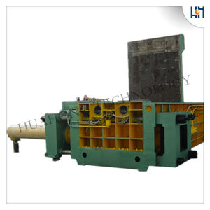 Hydraulic Automatic Scrap Baler Recycling Machine pictures & photos
