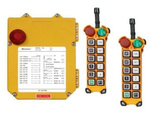 Double Transmitters F24-12s Telecrane Wireless Remote Control for Tower Crane pictures & photos