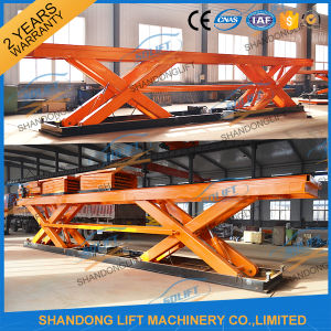 Heavy Duty Double Scissors Lift Table with Ce pictures & photos
