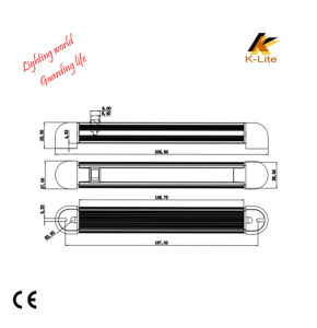 Bus Interior High Bay Light, Hot Sale LED Working Tube Light Lm619 pictures & photos