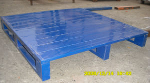 Safety Standardized Warehouse Storage Steel Pallet (KV13012) pictures & photos