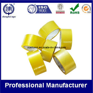 Yellow Packaging Tape for Carton Sealing Wrapping Gift Packaging pictures & photos