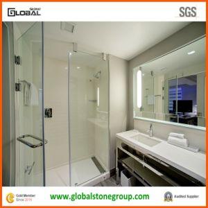 Zodiaq White Quartz Vanity Tops for USA Hospitality Marriott