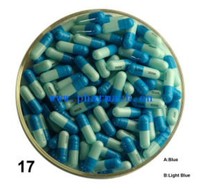 Halal Certificate Empty Hard Gelatin Capsule / Gel Capsules Blue/ Light Blue pictures & photos