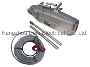 Wire Rope Pulling Hoist with Aluminium Crust pictures & photos