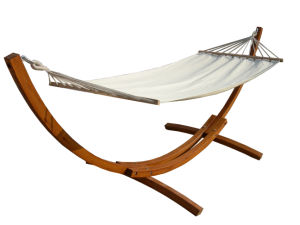 Luxury Sturdy Frame Wooden Hammock pictures & photos