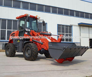 China Zl16f Hydraulic 4WD Boom Front Loader pictures & photos