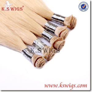 Best Handwork Hand Tied Hair Remy Hair Extension pictures & photos