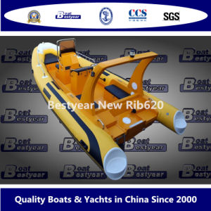 Bestyear Rigid Inflatable Boat of New Rib620 pictures & photos