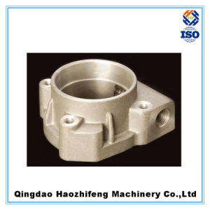 Aluminum Alloy Sand Casting Part with Sand Blasting Surface pictures & photos