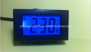 D85 Series Digital LCD Voltage Panel Meter pictures & photos