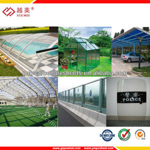 Colored Polycarbonate Solid Sheet Used for Building Decorative Material pictures & photos