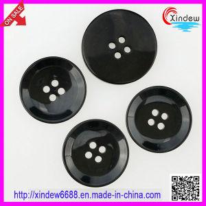 Black Plastic Suit Buttons for Men pictures & photos