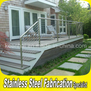 Customed Stainless Steel Outdoor Garden Stair Railing pictures & photos
