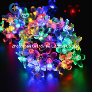 LED Christmas Light RGB Light Sakura Shaped String Light (AC220V) EU Standard pictures & photos
