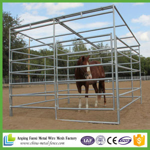 2.1mx1.8m Heavy Duty Round Pipe Horse Yard Panel pictures & photos