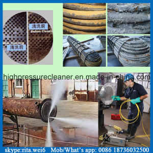 1000bar Electric Motor High Pressure Water Jet Pipe Cleaner pictures & photos