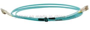 LC/UPC-LC/UPC Multimode Duplex Fiber Patchcord (Fiber Jumper) pictures & photos