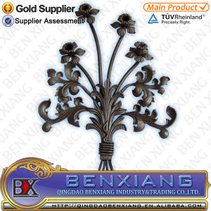 Garden Decor Wrought Iron Flower Panels pictures & photos