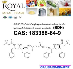(2S, 3S, 5S) -5-Tert-Butyloxycarbonylamino-2-Amino-3-Hydroxy-1, 6-Diphenylhexane Succinate CAS: 183388-64-9, Bdh, 99.0% Min. pictures & photos